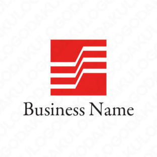着実な成長するロゴ