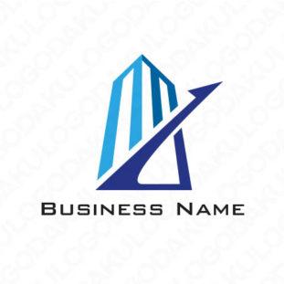 成長するビルのロゴ