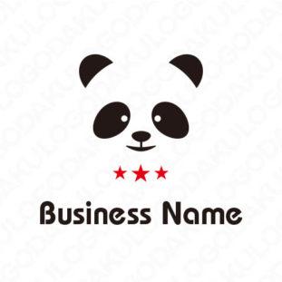 三ツ星パンダのロゴ