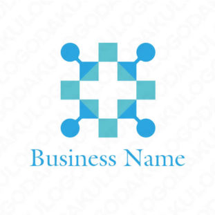 結晶十字のロゴ