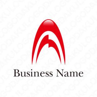 上昇するAのロゴ
