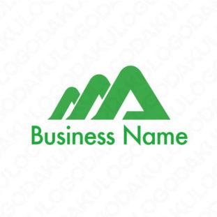 トリプルAの山のロゴ