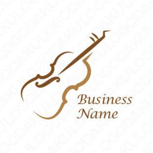 バイオリンのロゴ