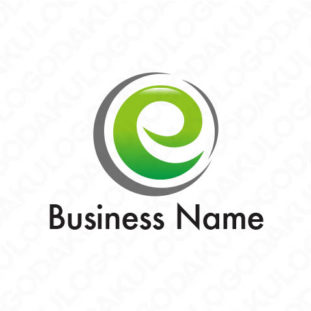 ネットワークのeロゴ