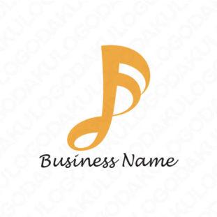 音符のプレミアムロゴ
