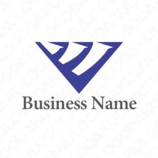 アグレッシブなVのロゴ