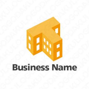 建物のロゴ