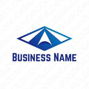 浮上するAのロゴ