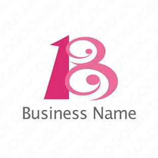 ユニークなBのロゴ