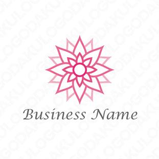 蓮の花のロゴ