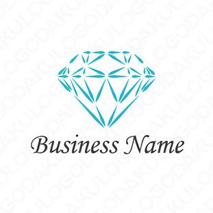 ダイヤモンドのロゴ