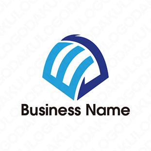 オンラインドーム・Eのロゴ