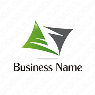 バランス力と成功のロゴ