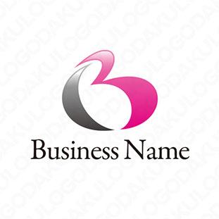 ハートBのロゴ