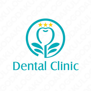 歯の健康を育むロゴ