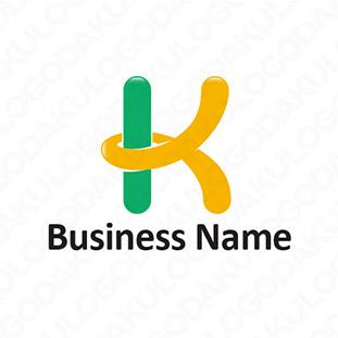 包み込むKのロゴ