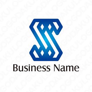 重なるスタイリッシュなSのロゴ