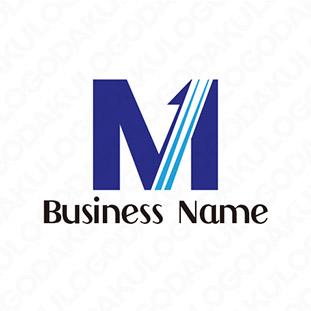 上昇するMのロゴ