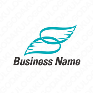 Sの羽のロゴ