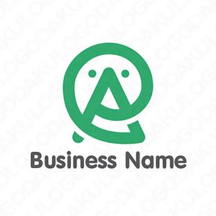 ユニークな発想のAロゴ