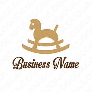 木馬のロゴ