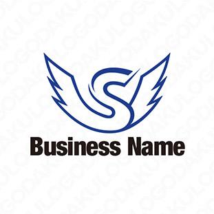 羽ばたくSのロゴ
