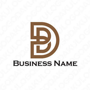 DとBを合わせたロゴ