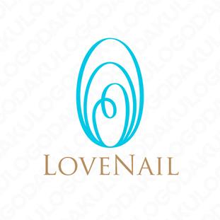 広がる輪のハートのロゴ