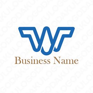 世界に羽ばたくWのロゴ