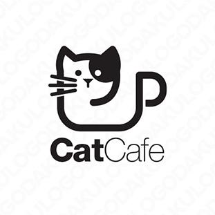 ねこカフェのロゴ