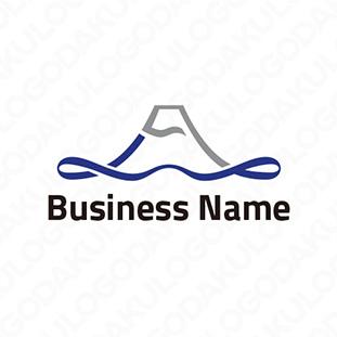 富士湖畔のロゴ