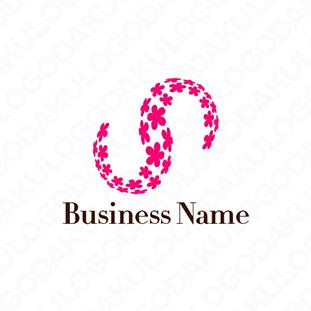 桜満開のSロゴ