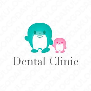 歯の親子のロゴ