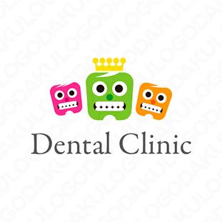 歯のトリオのロゴ