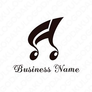 軽快な音符のロゴ