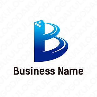 そびえるBのロゴ