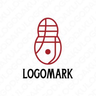 瓢箪型の寿ロゴ