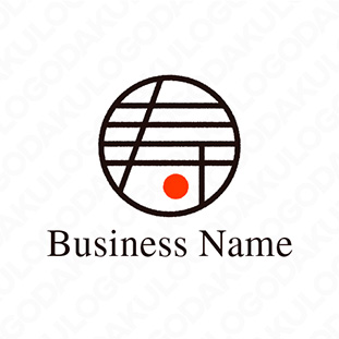 寿の漢字のロゴ