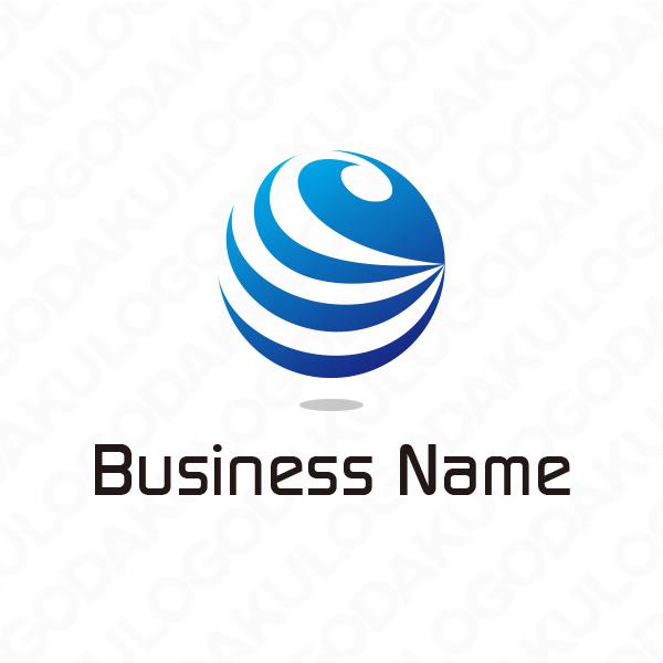 世界をネットで繋ぐロゴ