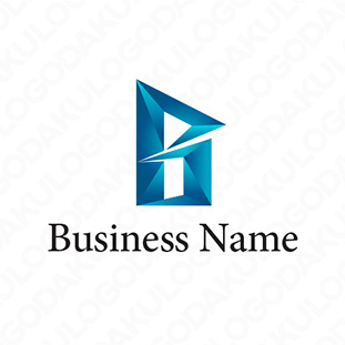 上昇するBのロゴ