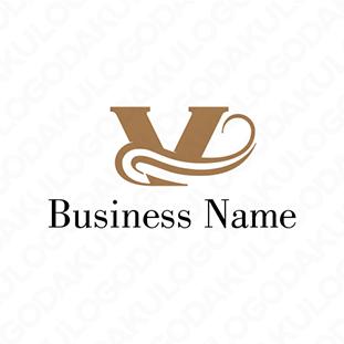 流れるVのロゴ