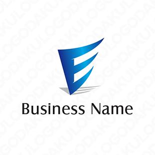 風に乗るEのロゴ