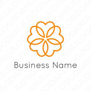 ハート・フラワーのロゴ