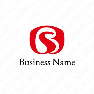 柔軟なSのロゴ