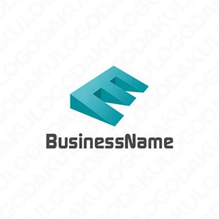 浮上するEのロゴ