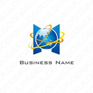 地球Earthのロゴ