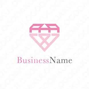 のダイヤモンドのロゴ