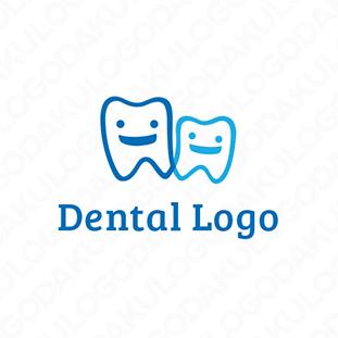 のんきな歯のコンビのロゴ