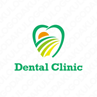 眺めの良い歯医院ロゴ
