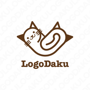 猫のやじろべえのロゴ